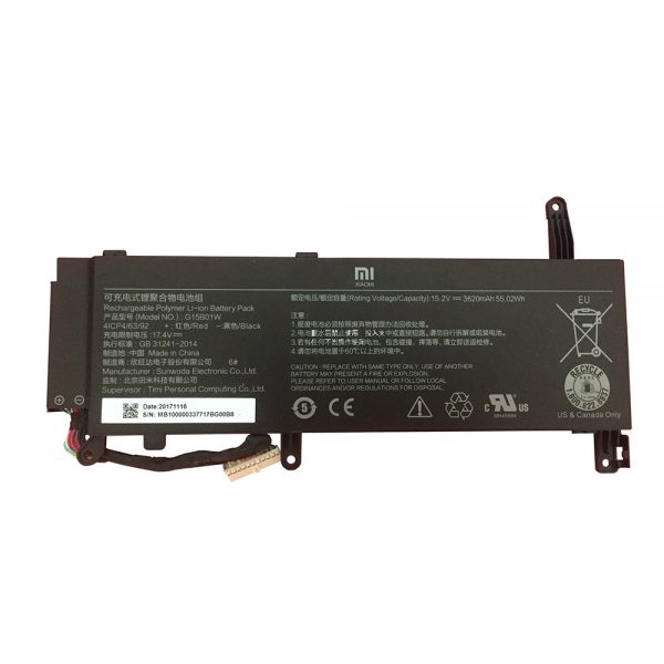 New original laptop battery for XIAOMI Mi Gaming G15B01W