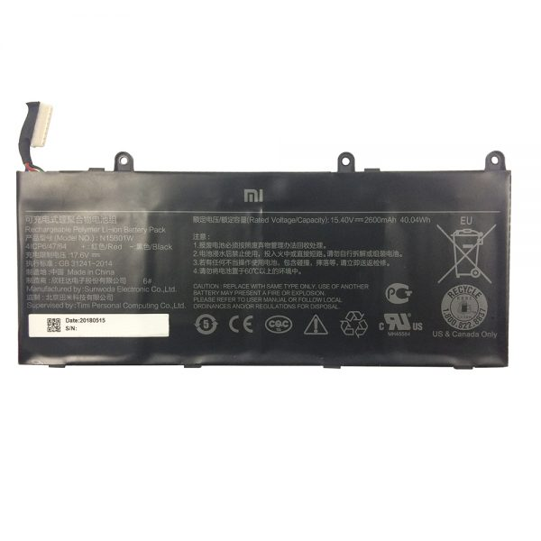 New original laptop battery for Xiaomi MI Ruby 15.6""