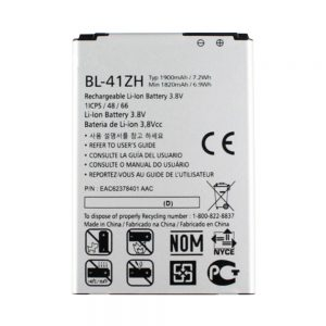 New original phone battery BL-41ZH for LG L50,H340,H345,MS345,H343,C40,D213N,LS665