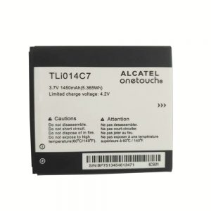 New original phone battery TLi014C7 for Alcatel onetouch OT4024