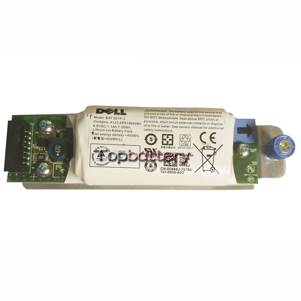 New battery for DELL 0D668J