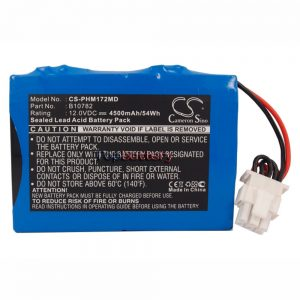 New battery for HP PHILIPS MEDICAL CODEMASTER,M1722A,M1723A
